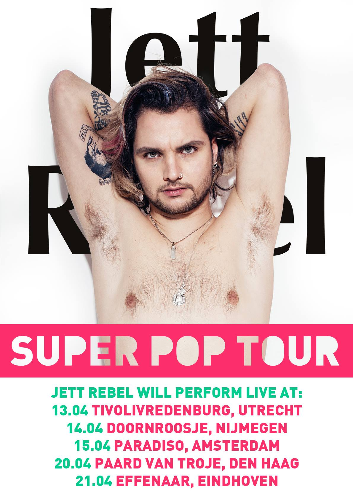 "JETT REBEL ""SUPER POP TOUR"""