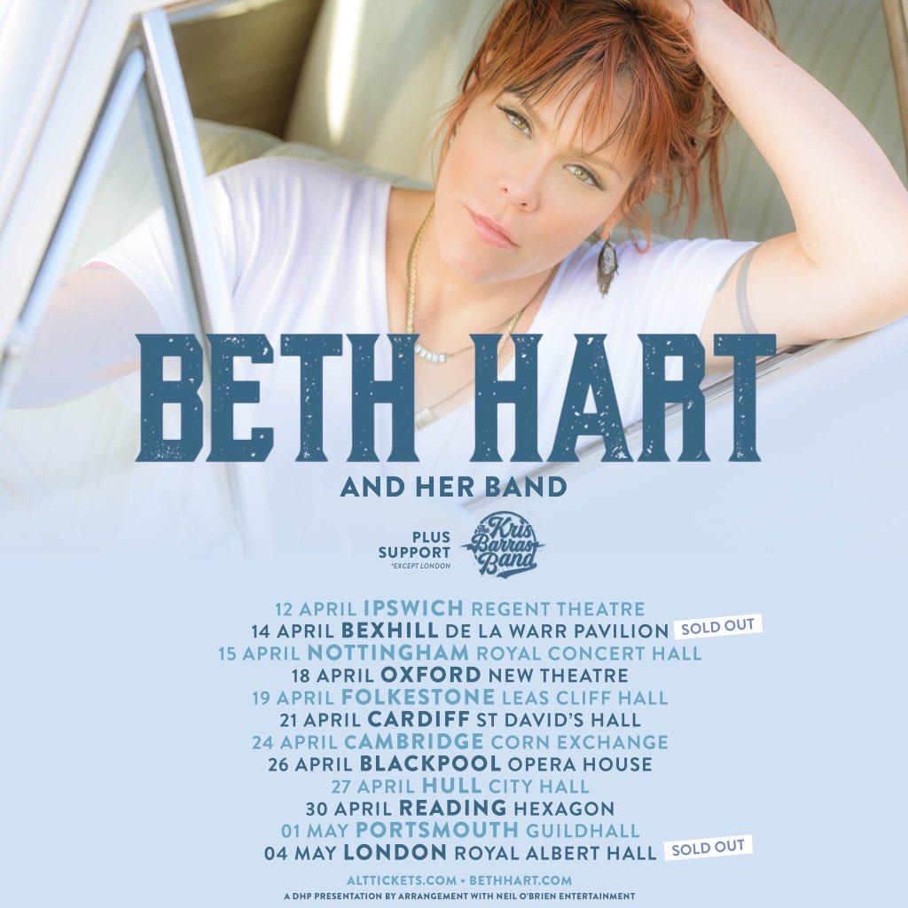 "BETH HART ""TOUR 2018"""